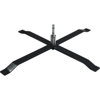 Pied croix pliable 4,5kg - Accessoire oriflamme publicitaire