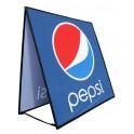 Pop Square - Bannière publicitaire piable