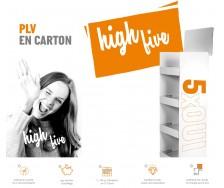 PLV Carton personnalisée